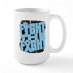 Fight The Fight Prostate Cancer Large Mug