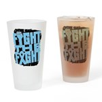 Fight The Fight Prostate Cancer Drinking Glass
