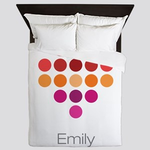 I Heart Emily Queen Duvet
