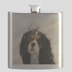 King Charles Cavalier Spaniel Flask