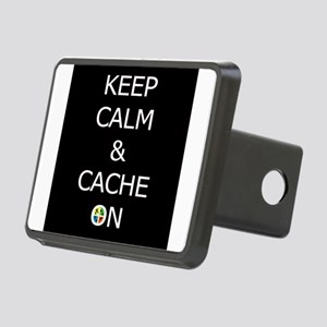 Keep Calm & Cache On Hitch Cover