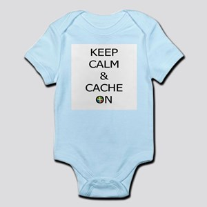 Keep Calm & Cache On Body Suit