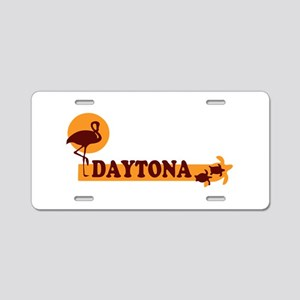 Daytona Beach - Beach Design. Aluminum License Pla