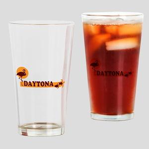 Daytona Beach - Beach Design. Drinking Glass