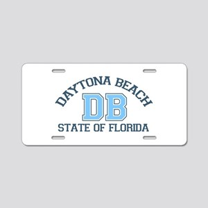 Daytona Beach - Varsity Design. Aluminum License P