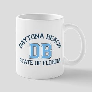 Daytona Beach - Varsity Design. Mug