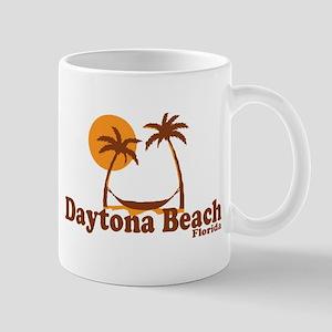 Daytona Beach - Palm Trees Design. Mug