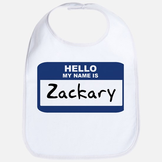 Hello: Zackary Bib