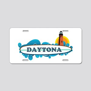Daytona Beach - Surf Design. Aluminum License Plat