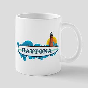Daytona Beach - Surf Design. Mug