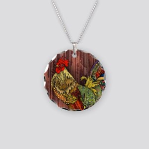 Rooster by the Barn Necklace