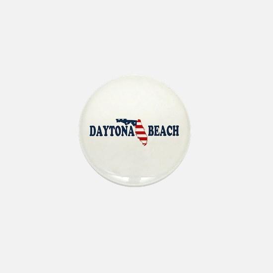 Daytona Beach - Map Design. Mini Button