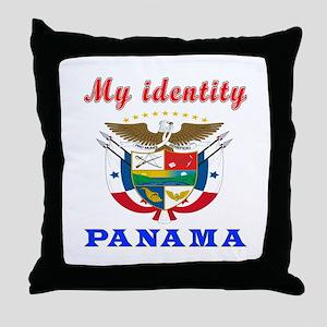 My Identity Panama Throw Pillow