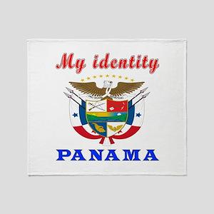 My Identity Panama Throw Blanket