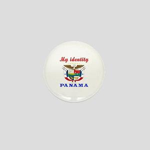 My Identity Panama Mini Button