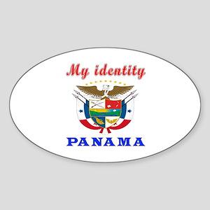 My Identity Panama Sticker (Oval)