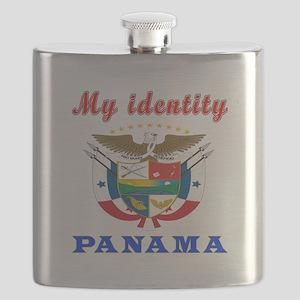 My Identity Panama Flask