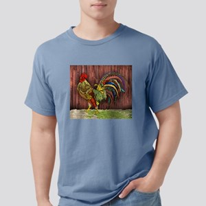 Rooster by the Barn Mens Comfort Colors Shirt