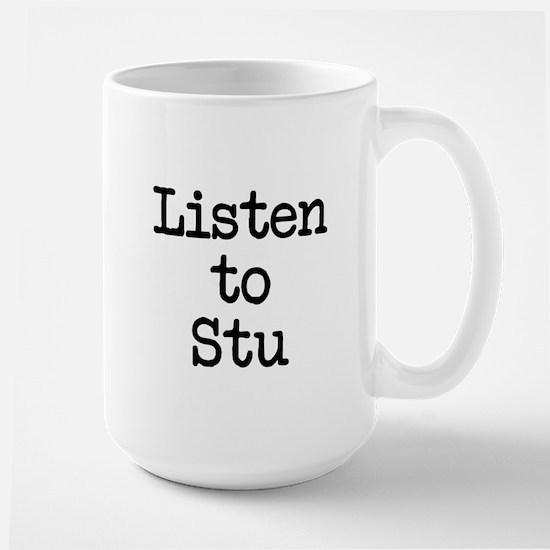 Listen to Stu Mug