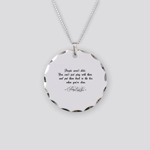 People aren't dolls - Pretty Little Liars Necklace