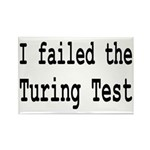 I Failed The Turing Test Computer Rectangle Magnet