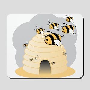 Honey Bees Mousepad