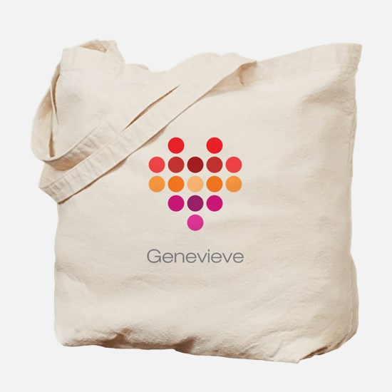 I Heart Genevieve Tote Bag