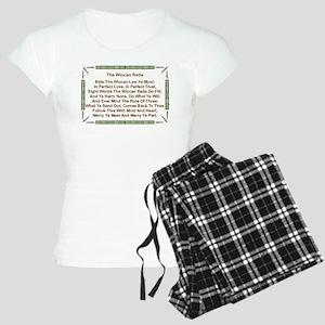 Balanced Wiccan Rede Women's Light Pajamas