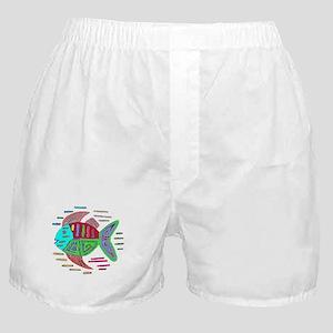 FISH MOLA DESIGN Boxer Shorts