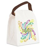 Peace Symbols Canvas Lunch Bag