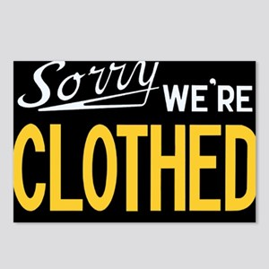 Sorry CLOTHED Postcards (Package of 8)