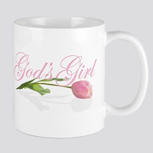 God's Girl Tulip Mug