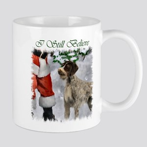 German Wirehaired Pointer Christ 11 oz Ceramic Mug