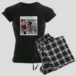 German Wirehaired Pointer Ch Women's Dark Pajamas