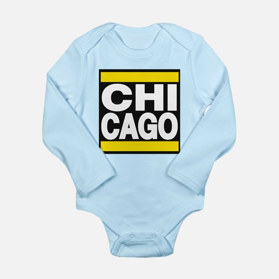 chicago yellow Body Suit
