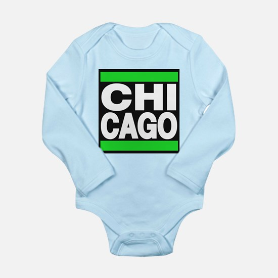chicago green Body Suit