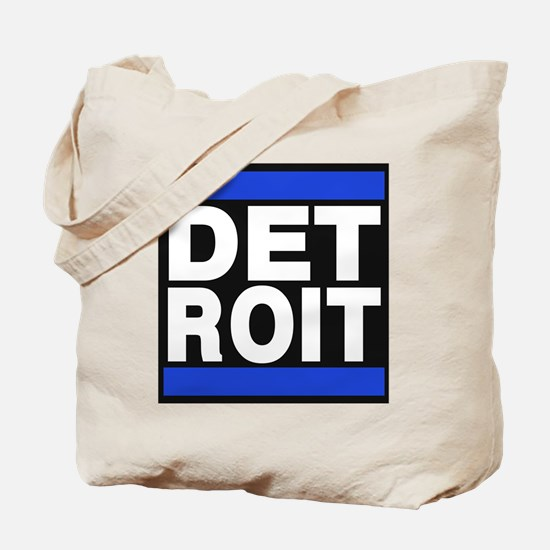 detroit blue Tote Bag