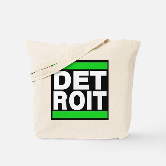 detroit green Tote Bag