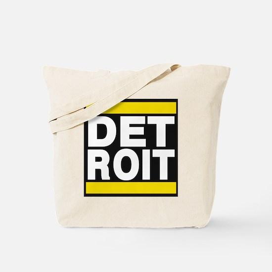 detroit yellow Tote Bag