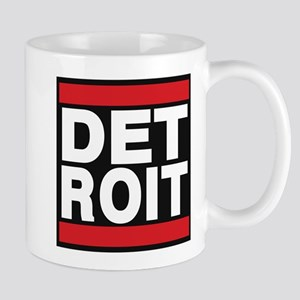 detroit red Mug
