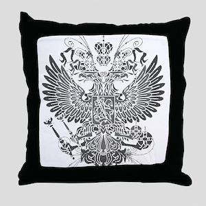 Byzantine Eagle Throw Pillow