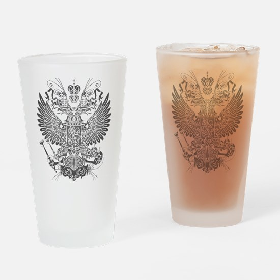 Byzantine Eagle Drinking Glass