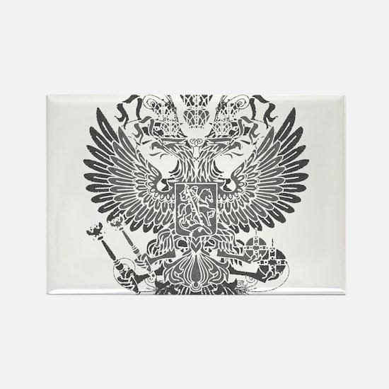 Byzantine Eagle Rectangle Magnet
