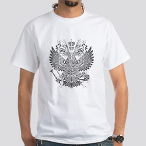 Byzantine Eagle White T-Shirt