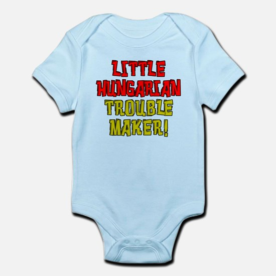 Little Hungarian Trouble Maker Body Suit