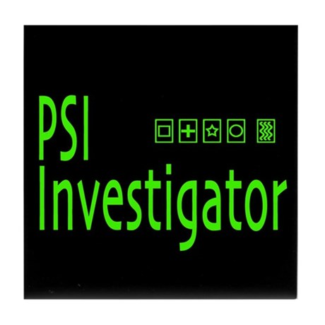 PSI Investigator Tile Coaster