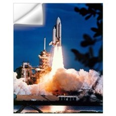 Launch of Columbia, the first space shuttle Wall Decal
