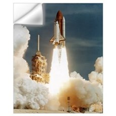 Launch of shuttle mission STS-70, July 13 1995 Wall Decal