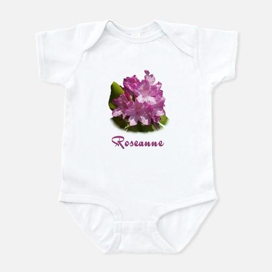 Roseanne: Purple Flower Infant Bodysuit