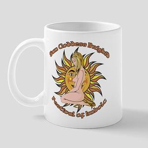 imbolc, Sun Goddess Mug